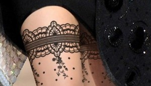 collant fantaisie tatoo