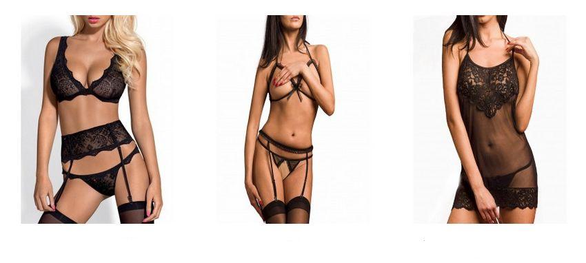 modèles de lingerie sexy et glamour
